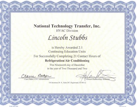 hvac design certificate heating ventilation air conditioning career and techno