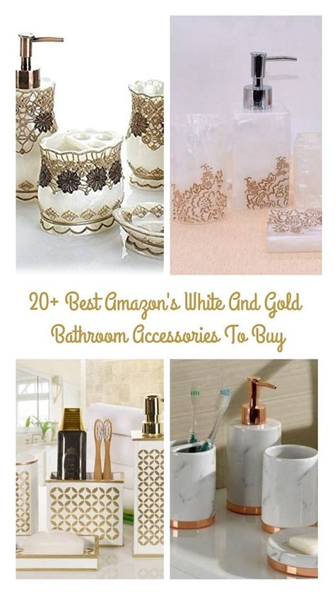 White And Silver Bathroom Accessories by 20 Best S White And Gold Bathroom Accessories To Buy