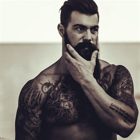 beard tattoo 425 best images about bods beards and tattoos on