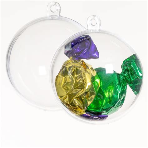 clear baubles clear acrylic baubles plastic balls clear