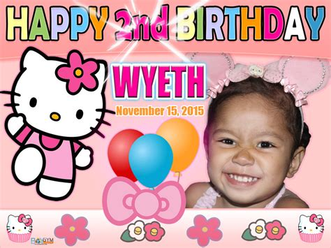 hello kitty themes for tarpaulin hello kitty birthday tarpaulin design for my niece