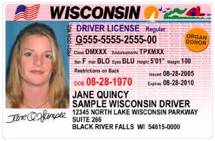 wisconsin drivers license template how to change your last name after marriage