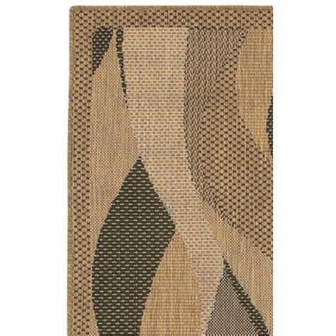 Outdoor Seagrass Rug Shop Recife Seagrass Black Outdoor Rug 1 Ft 8 In
