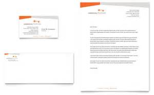 commercial real estate property business card amp letterhead