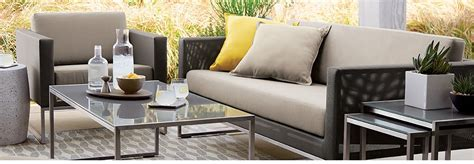 patio furniture crate and barrel dune collection modern patio furniture crate and barrel