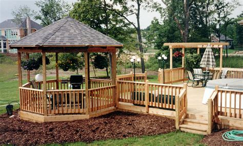 deck gazebo gazebo build services deck masters of columbus