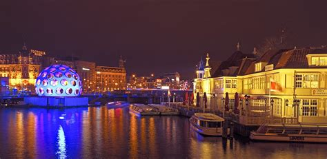 Amsterdam Light by Amsterdam Light Festival I Illuminates The City And Its Canals