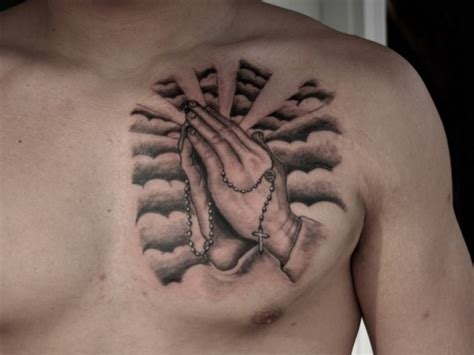 hand of god tattoo praying intended for concept 187