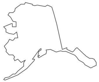 geo map usa alaska