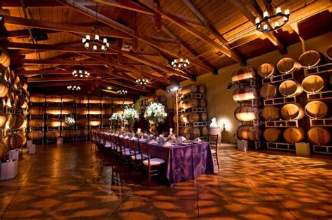 The Barrell Room by Ponte Winery And Vineyard Inn Temecula Ca Wedding Venue