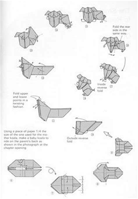 How To Make A Origami Koala - best 25 origami koala ideas on