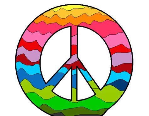 dibujos para todo dibujos de la paz dibujo de s 237 mbolo de la paz pintado por leea en dibujos
