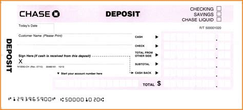 Deposit Slip Template Sadamatsu Hp Quickbooks Deposit Slip Template Free