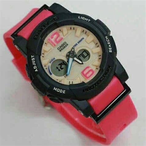 Jam Tangan Babyg Premium 5 jual beli jam tangan wanita casio baby g katy perry black