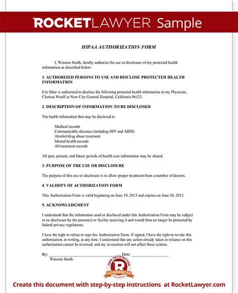 hipaa form template hipaa authorization form template with sle