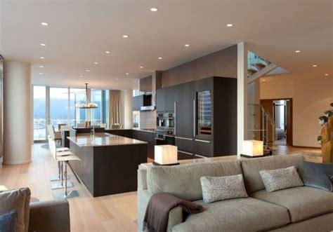 contemporary penthouse interior design  vancouver