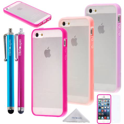 Casing Iphone 5 Colourfull iphone se 5s 5 wisdompro 174 3 packs colorful soft tpu