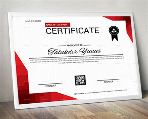 certificate design mockup certificate by expomedia graphicriver