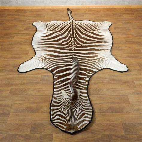 zebra rug for sale zebra size rug for sale 17870 the taxidermy store