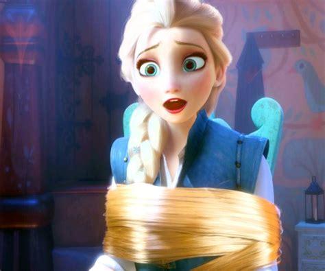 rapunzel kidnapped can frozen elsa anna save tangled tangled disney rapunzel frozen elsa constable frozen