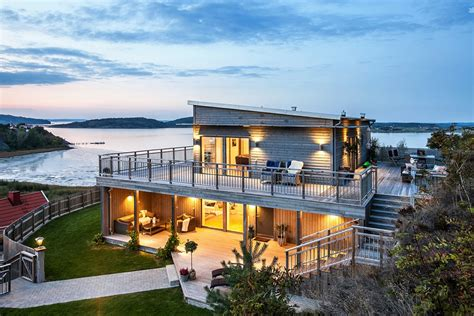scandinavian house scandinavian house with a splendid view of the sea