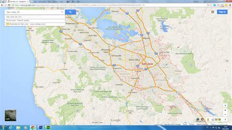 san jose california map san jose map pictures to pin on pinsdaddy