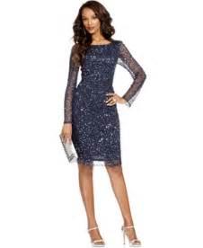 patra petite dress long sleeve beaded sequin dresses