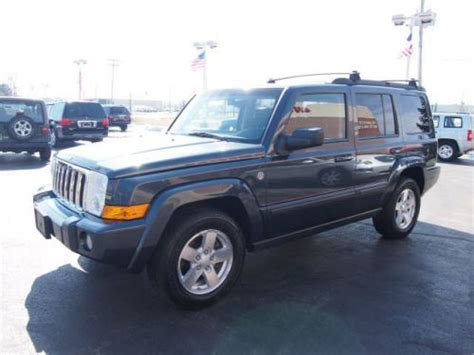 how to sell used cars 2007 jeep commander free book repair manuals find used 2007 jeep commander sport in 2850 e main st plainfield indiana united states for