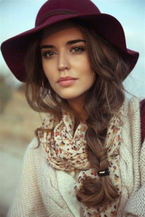 fashionable hairstyles  hat wearers pretty designs