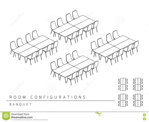 room setup template meeting room setup layout configuration banquet style