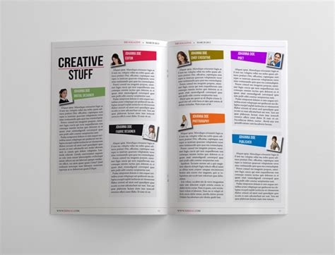 business magazine template 24 pages magazines