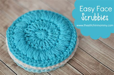 Bathroom Designer Tool easy face scrubbies free pattern the stitchin mommy
