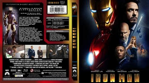 Dvd Bluray Ironman iron custom covers iron cover dvd covers