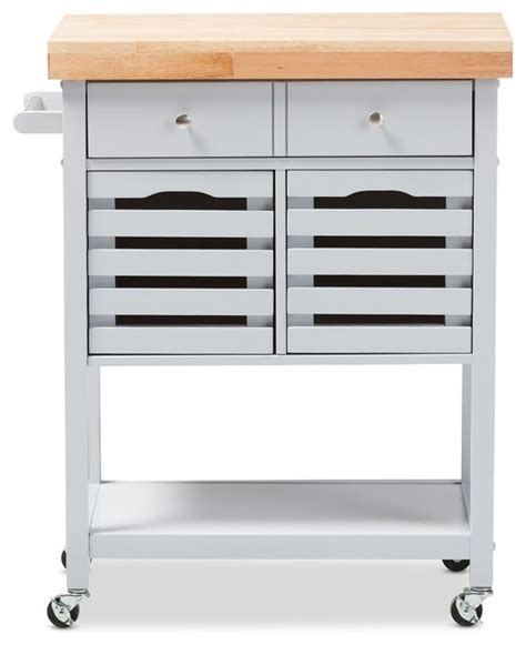 wheeled kitchen island jaden finished wheeled kitchen cart with butcher top