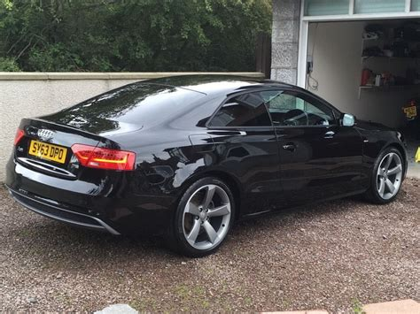 Audi A5 Black 2013 audi a5 black edition in aberdeen gumtree
