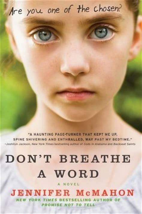 don t move don t breathe books don t breathe a word by mcmahon reviews
