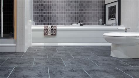 Interlocking Floor Tiles Bathroom by Vinyl Flooring For Kitchen And Bathroom Bathroom Vinyl