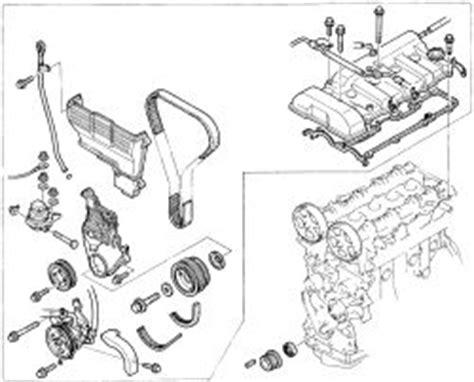 small engine repair training 1993 mazda 626 engine control repair guides engine mechanical timing belt cover autozone com