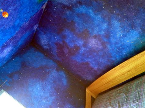 galaxy bedroom paint galaxy blue wall paint how to paint a star night sky