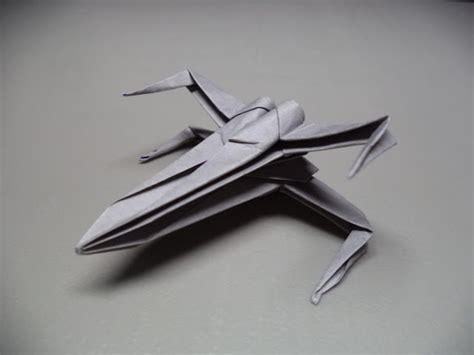 x wing fighter origami make your own origami x wing fighter mightymega