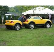 Mercedes Benz SLK  G Wagon Hybrid 1998