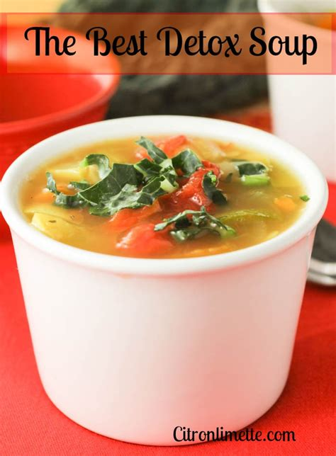 Detox Broth Recipe by Detox Soup Citronlimette