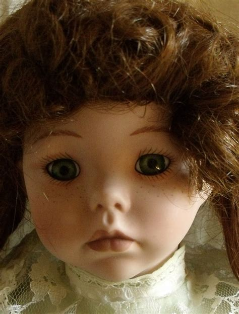 mann porcelain doll 383 pin by in with blue on sort