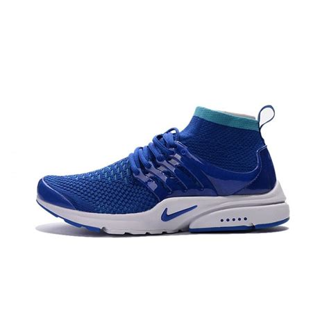 nike air shoes buy nike air presto ultra flyknit high s blue shoe