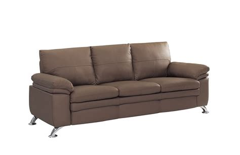 soft leather sectional soft padded bonded leather contemporary sofa prime classic
