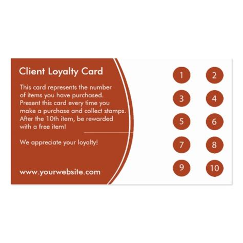 Restaurant Punch Card Templates by Loyalty Business Card Punch Card Zazzle