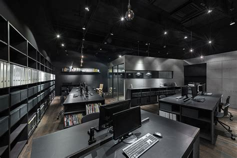 Black Ceiling Band by Back To Black Comodo S Tsuen Wan Office Indesignlive