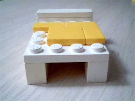 tutorial lego bed lego tutorial how to make a bed youtube