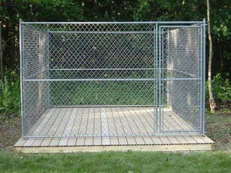 outdoor kennel ideas outdoor kennel building a platform in endearing kennel flooring ideas