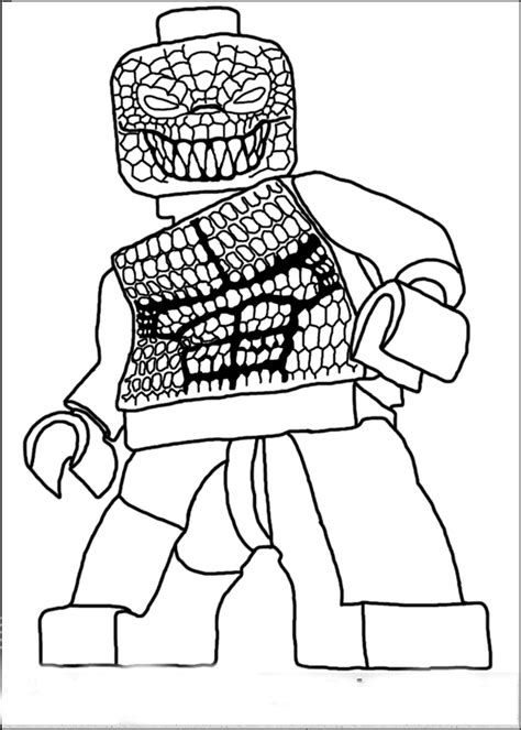 Cartoon Spider Coloring Page